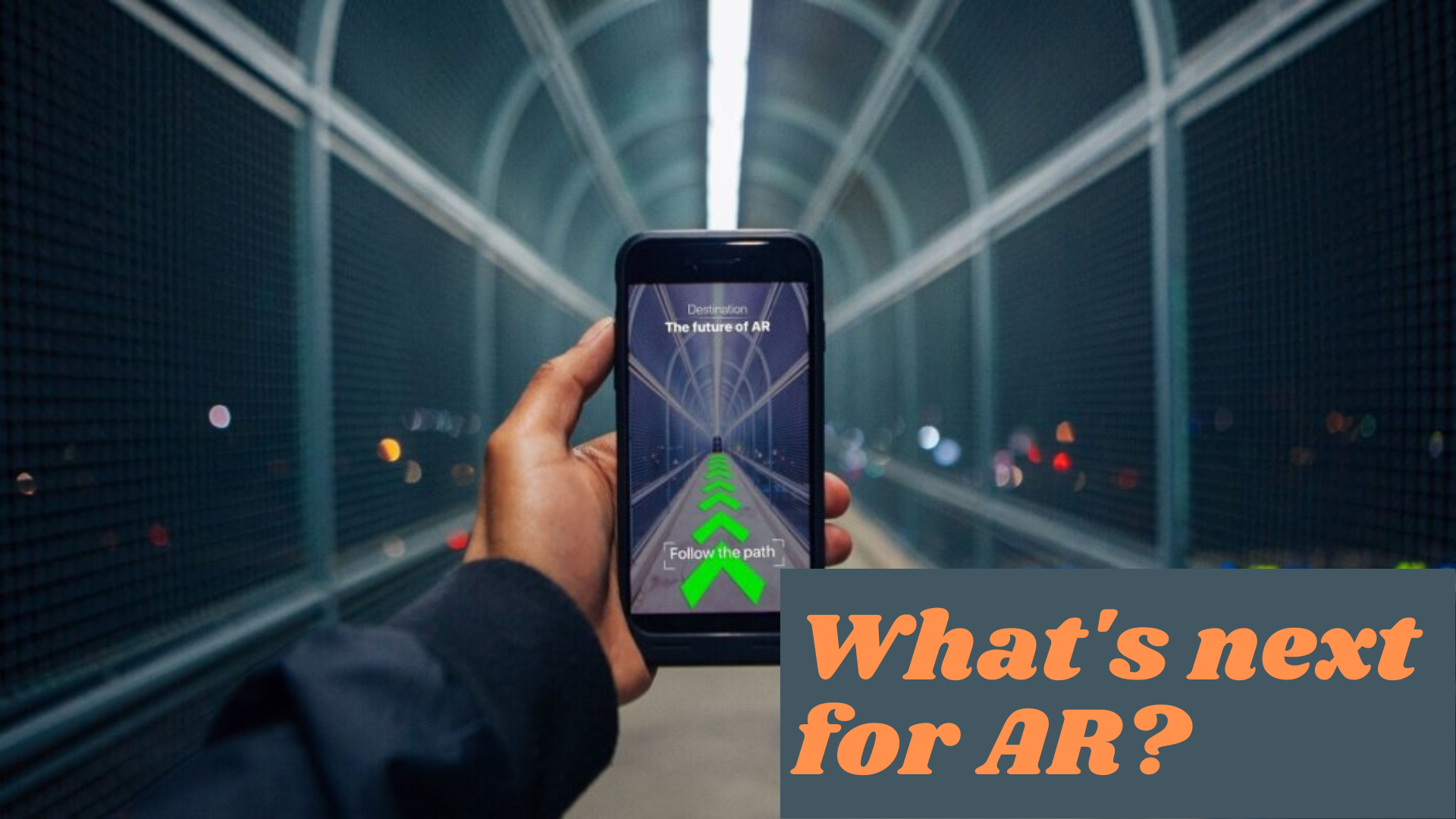 Learn what's next for Augmented Reality in 2020